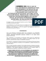 Acuerdo 205