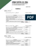 Tercera Evaluacion Septiembre 16 Del 2011 Rubrica