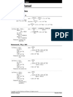Chemistry Practice Solutions