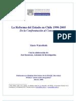 Reforma Estado Chile 1990 2005