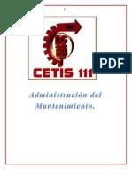 Proyecto de Mantenimiento CETIS 111