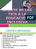 Las Tics y Las Necesidades Educativas Especiales