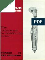Aircraft Profile 094 - Focke-Wulf FW-190D-Ta-152 Series