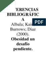 REFERENCIAS BIBLIOGRÁFICA