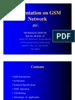 Presentation on GSM Network