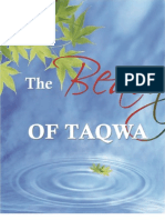 Beauty of Taqwa