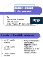 Presentation of Parallel Universe to My Ma'm Dr. Ayesha GCUF