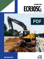 Excavadora Volvo Ecr305c l