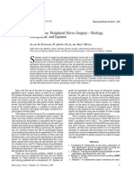 Introduction Peripheral Nerve Surgery—Biology,