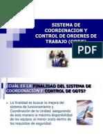Sistema de Coordinacion y Control de Ordenes De