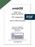 UM01001 EmbOS Generic