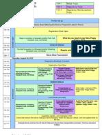 Conference Agenda 2012