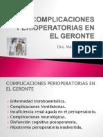 Complicaciones Perioperatorias en El Geronte