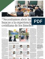 Emprendedores Culturales apuestan por huacas en Perú