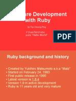 foss ruby software development