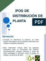 Tipos de Distribucion de Planta SLP