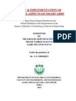 Study & Implementation of Various Aspects of Smart Grid