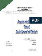 Derecho de Contratos - Tomo i - Teoria General Del Contrato - Nancy Ojeda r.