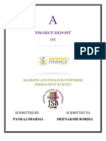 Project of Banking Andfinance