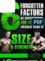 6 Factors Hypertrophy Max Report