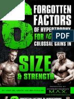 6 Factors Hypertrophy Max Report