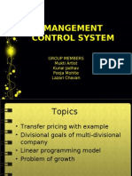 Mangement Control System