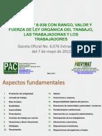 Ley Del Trabajo Mayo 2012 ANALISIS NUEVA LEY-Lottt.desbloqueado