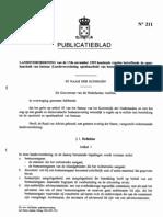 Landsverordening Openbaarheid Van Bestuur P.B. 1995 No 211