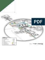 Mapa do tráfego para a UFSM