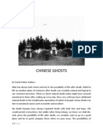 Chinese Ghosts by David Arthur Walters