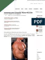 Alimentos Para Aumentar Massa Muscular _ Treino.org