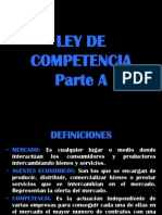 Ley de Competencia Parte A
