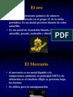 Amalgamacion Del Oro