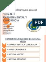 Examen Mental y Conciencia