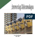 CKV Architectuurverslag Kubuswoningen