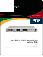 Application Switch Application Guide 25.3.2.0