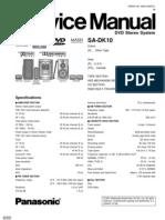 Panasonic SA DK10