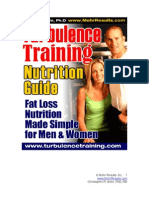 Turbulence Training Nutrition Bonus Chris Mohr PhD