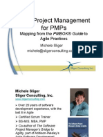 Agile Project Management for PMPs 2009