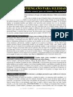 Manual Antiengaño para Iglesias - Por D.A.FloresS.