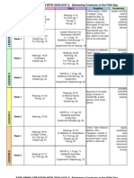 Zoology 2 26-Week Schedule