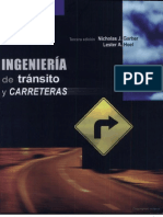 Libro Ingenieria de Transito y Carreteras - Garber