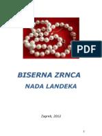 Biserna Zrnca - Nada Landeka