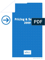 WHCC 2009 Pricing Guide 0409 Web
