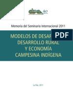 Memoria Modelos Desarrollo Rural 2011[1]