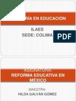 Ppt de Las Sesiones de Reforma Educativa