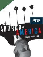 David Jenemann - Adorno in America