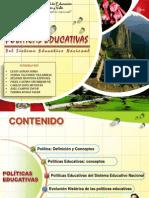 Politicas Educativa del sistema educativo peruano
