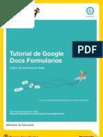 Tutorial Google Docs Formularios