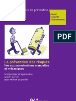 Cahier Prevention Manutention